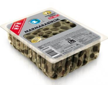 Marmarabirlik Schwarze Oliven Vakum, HPR-L 500g