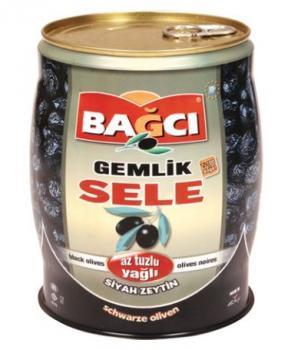 Bagci Gemlik Schwarze Oliven Sattel 750g
