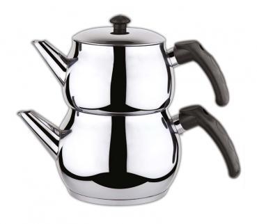 OSSA Teekanne Set für Türkischer Tee, Mittel Groß
