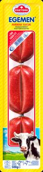 Egetürk Egemen Knoblauchwurst / Sucuk, Doppelclip Finger, 0.5kg