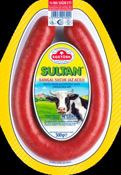 Egetürk Sultan Knoblauchwurst / Sucuk, Ring 500gr