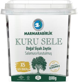 Marmarabirlik Satel Schwarze Oliven, XS, 800g