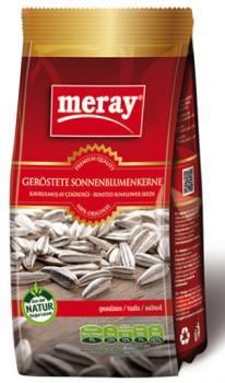 Meray Sonnenblumenkerne geröstet / gesalzen 300gr