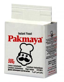 Pakmaya Hefe, Backhefe / Ohne Gluten 500g
